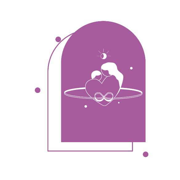 Acél végtelen jel alakú neves medál lánccal - 1-4 név